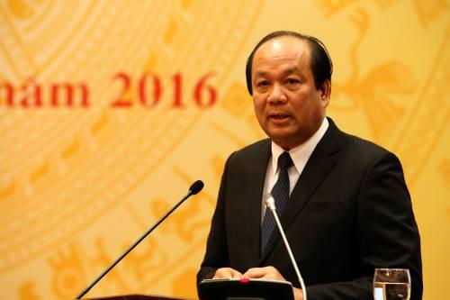 """Bộ trưởng Chủ nhiệm Văn phòng Chính phủ Mai Tiến Dũng: """"Formosa cam kết sẽ chuyển ngay toàn bộ số tiền 500 triệu USD cho phía Việt Nam""""."""