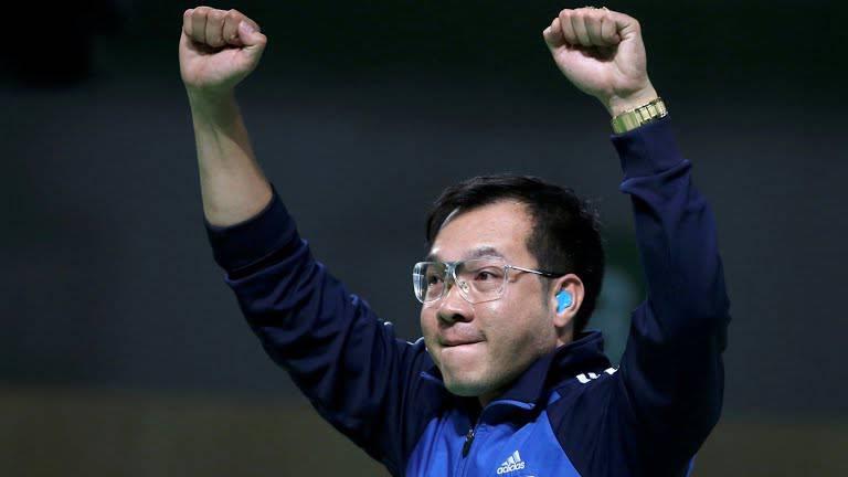 Hoàng Xuân Vinh - đạt huy chương vàng Olympic Rio 2016