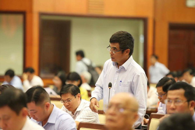 Đại biểu Cao Anh Minh băn khoăn thất thu thuế kinh doanh qua mạng