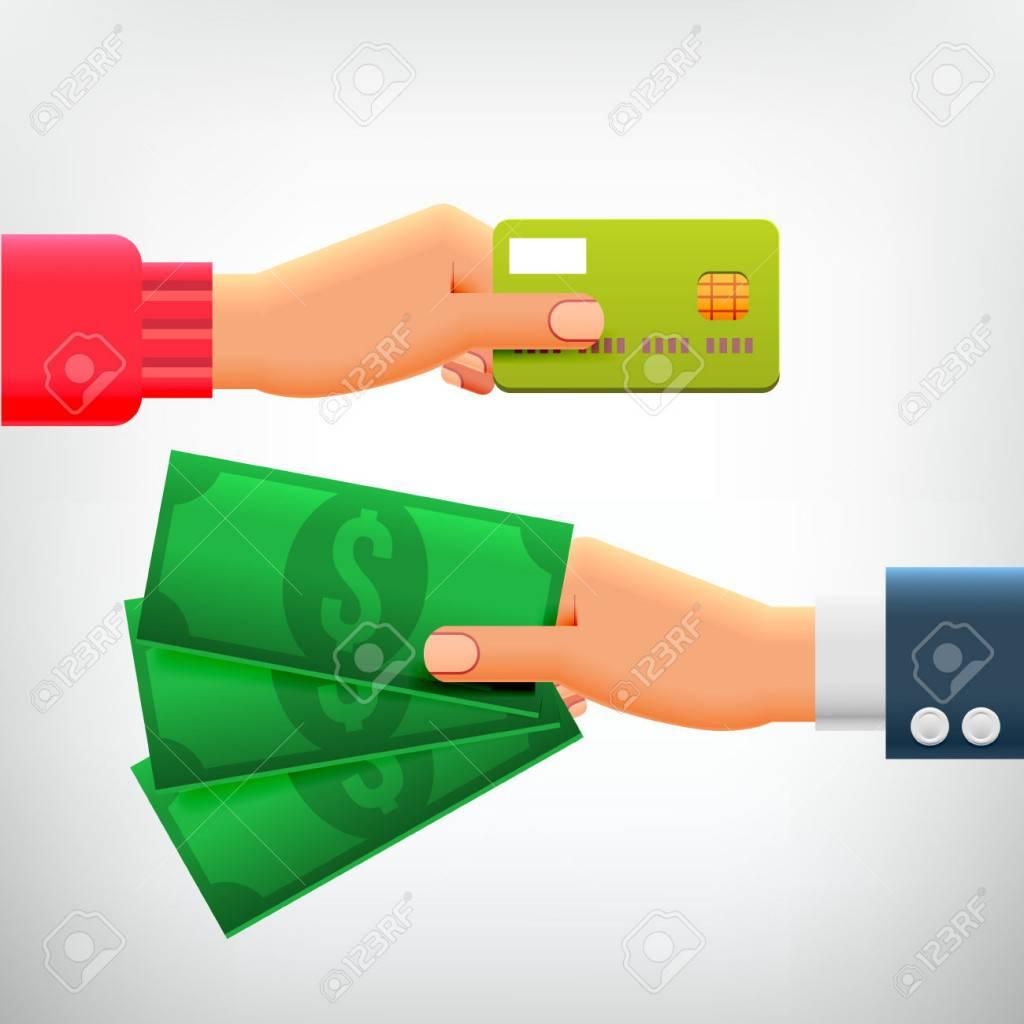 Rút tiền mặt bằng thẻ tín dụng