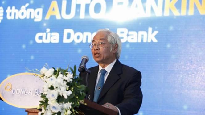 Ông Trần Phương Bình tại Đại hội cổ đông 2015